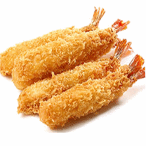 Foto Fried gamba tempura